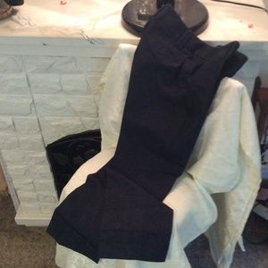 Ann Taylor Loft Trouser Jeans Capri Cut Off Size 4